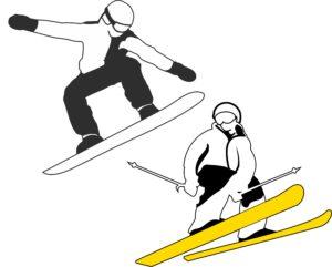 HIVER|SKIS|SNOW